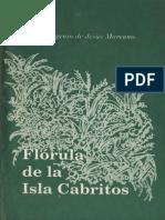 Eugenio de Jesus Marcano - Florula de La Isla Cabritos