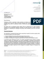 Financial System Inquiry - Challenger Submission