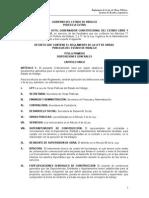 Reglamento de La Ley de Obras Públicas Del Estado de Hidalgo