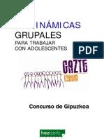 Dinamicas Grupales Para El Trabajo Con Adolescentes