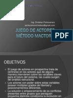 Análisis del Juego de Actores (Christian Portocarrero)
