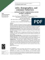 7. Identity, Demographics, And Consumer Behavior