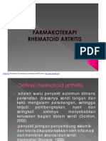 FARMAKOTERAPI RHEMATOID ARTRITIS