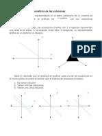 3.3 Interpretación Geométrica de Las Soluciones
