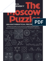 The Moscow Puzzles 359 Mathematical Recreations Sample Pages