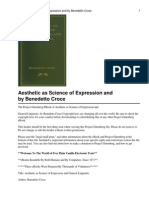 Benedetto Croce - Aesthetic As Science Of Expression And General Linguistics.pdf