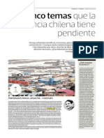 Cinco temas que la Ciencia chilena tiene pendiente