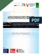 Proyecto Aerogeneradores Eoli Fps