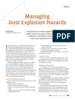 Managing Dust Explosions Hazards