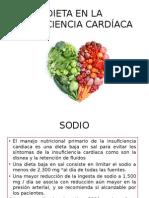 Dieta en La Insuficiencia Cardíaca