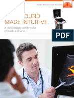 Brochure Touch Ultrasound 201412