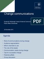 Change Communications Workshop