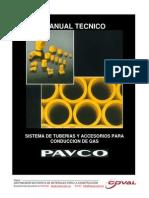 Manual Pavco Gas