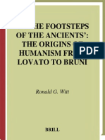 Ronald G. Witt - In the Footsteps of the Ancients_ the Origins of Humanism From Lovato to Bruni (Studies in Medieval and Reformation Traditions