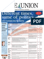 The Union Election 2010 Special Report