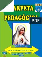 Carpeta Pedagógica (i.e.p. Santa Maria de Fatima - Amarilis - Huánuco)