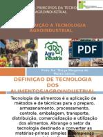 AULA 1- Introdução a Tecnologia Agroindustrial