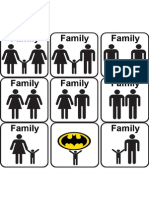 Family - Groups That May Be Considered a Family