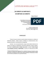 DO DIREITO AO MÉTODO E DO MÉTODO AO DIREITO - Deisy Ventura
