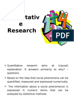 Lecture 4 Types of Research III