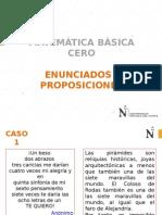 SESION 1 Enunciados y Proposiciones