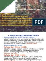 14. Analisis Keanekaragaman Ekosistem