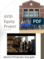 avid elective equity pptx