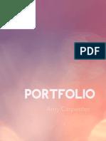 Portfolio - Amy Carpenter