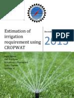 Irrigation Assignment
