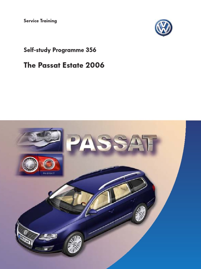ssp356 gb the passat estate 2006 diesel engine trunk car rh scribd com Library in Self-Study Western CPE Self-Study