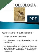 III Autoecología