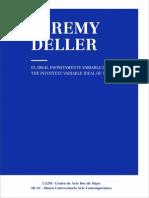 Catalogo Jeremy Deller