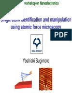 Atom Identification by AFM