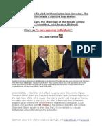 General Raheel Sharif is a very superior individual - Senator John McCain, chairman of the US Senate Armed Services Committ