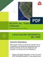relieve del territorio peruano