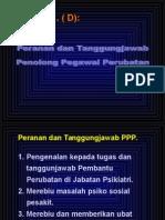 Peranan Dan Tanggungjawab Ppp