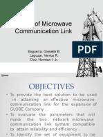 Design of Microwave