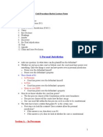 Civil Procedure Barbri Notes