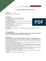 Practica 1 - Ley de Induccion de Faraday