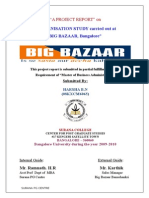 21349941 Big Bazaar Project