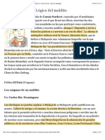 Actualidad Literaria - Curzio Malaparte, Lógica del maldito