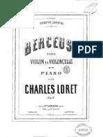 Charles Loret Berceuse