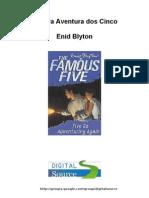 Enid Blyton - Nova Aventura Dos Cinco , em Português