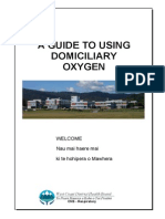 A Guide to Domiciliary Oxygen