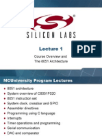 Course Overview and 8051 Architecture Rv01