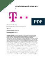 Telekom Romania Communications SA