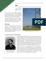 Historique Reseau Electrique
