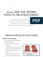 Seismic Effects on Structures