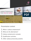Subsea Compression – From Idea to Reality