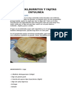 Bocatas Fajitas Entulinea